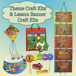 Vbs craft kits music search engine at for Bible school craft supplies